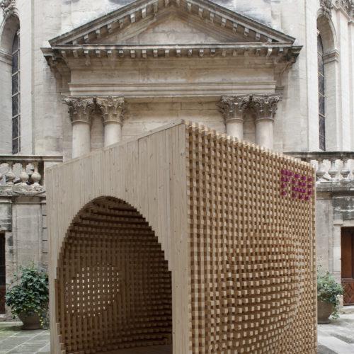 wood box atelier vecteur